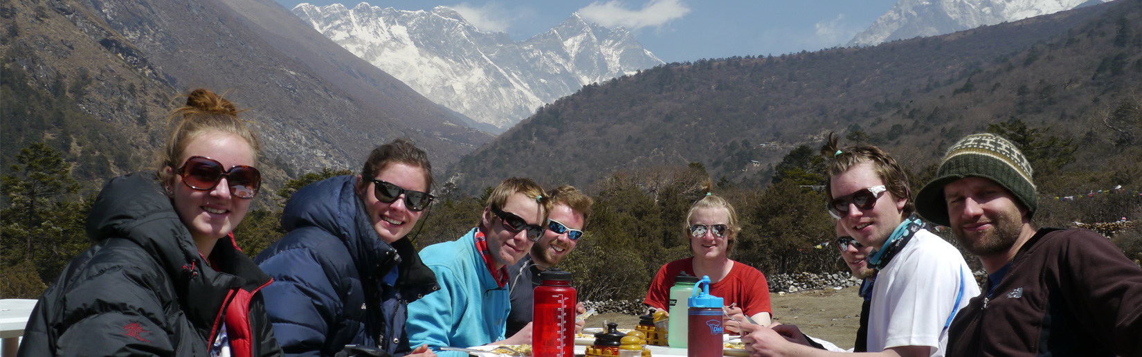 Lunch time at Everest Region