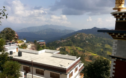 Hiking Namo Budha Panauti